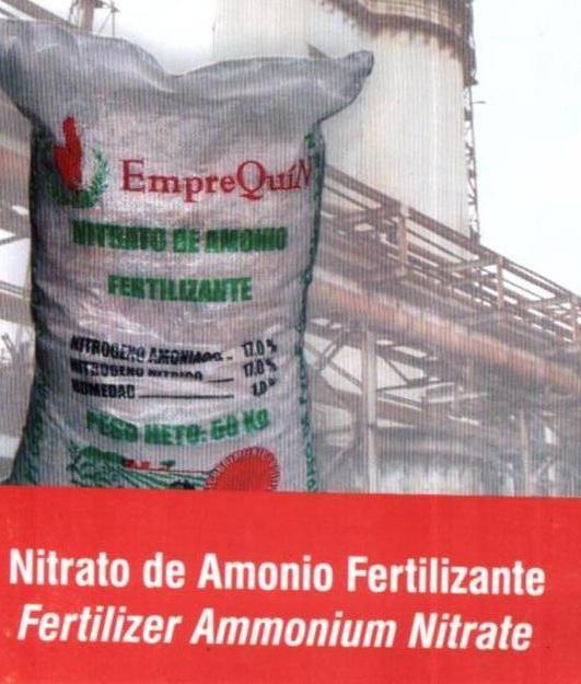 Comprar Nitrato de Amonio