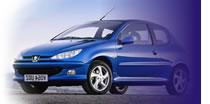 Pedido Renta de Peugeot 206